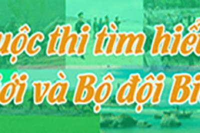 THỂ LỆ CUỘC THI Tìm hiểu về biên giới và Bộ đội Biên phòng chào mừng kỷ niệm 60 năm Ngày truyền thống BĐBP (03/3/1959 – 03/3/2019) và 30 năm Ngày Biên phòng toàn dân (03/3/1989 – 03/3/2019)