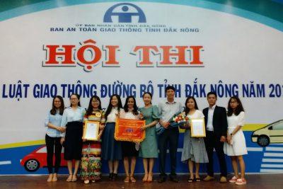 Hội thi tìm hiểu luật Giao thông đường bộ tỉnh Đắk Nông năm 2019